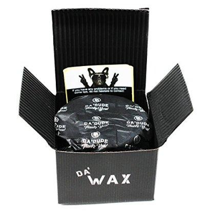 DaDude-DaWax-Cera-Para-el-Pelo-Hombre-Cera-de-Peinado-Muy-Fuerte-Acabado-Mate-El-Mejor-Producto-de-Peluquera-Profesional-Tina-de-Madera-y-Bolsa-de-Regalo-100-ml