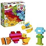 LEGO DUPLO - Mis Primeros Ladrillos, Juguete Preescolar Creativo y Educativo de Construcción para Niños de 1 Año y Medio a 3 Años con Piezas de Colores (10848)