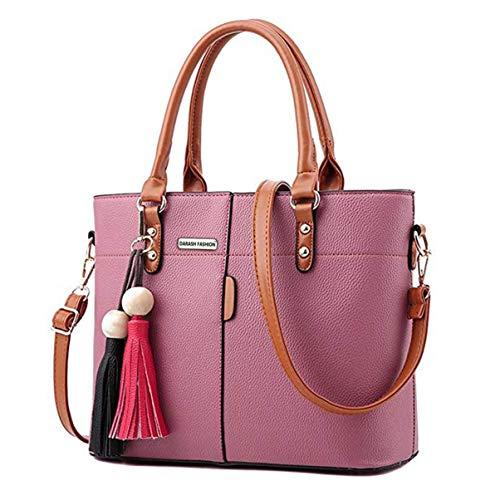 Womens PU Tot Bags, oteawe Women Purses and Handbags Casual Crossbody Shoulder