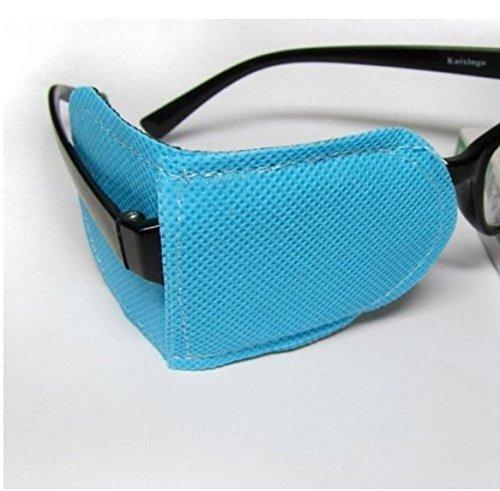 EWIN(R) 6pcs New Amblyopia eye patches, kids eye patch,Strabismus, lazy eye patch for children (large(110x50mm))