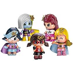 Pinypon - Pack 5 Superheroínas
