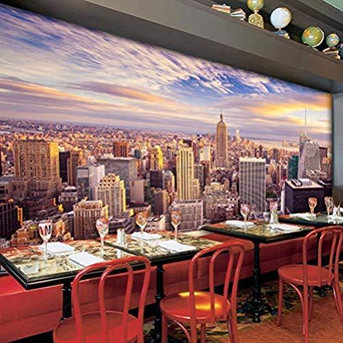 Carta da parati personalizzata con foto 3D Decorazioni per la casa Nueva York Salón Divano letto Tv Fondo Papel Pintado Murales Papel De Pared 3D (L) 300x (H) 210cm- (W) 400x (H) 280cm