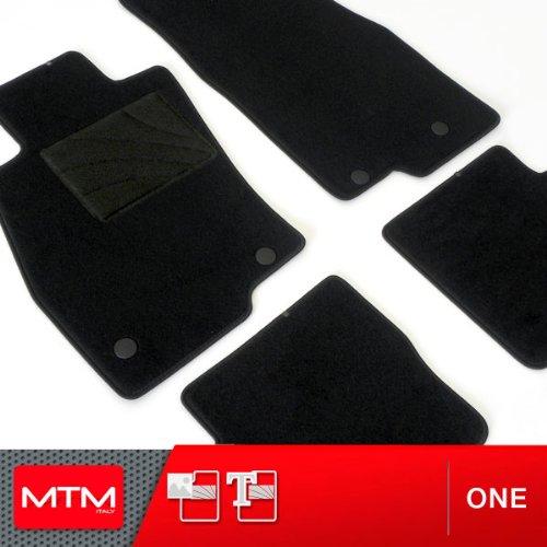 MTM Tappetini Yaris I 5 Porte dal 1999-2005 su Misura Come Originali in Velluto, Battitacco in...