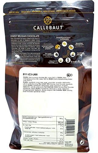 Callebaut 3 x 1kg Bundle - Chocolat de Couverture au Lait, Noir & Blanc Belge - Finest Belgian Chocolate (Callets) Lot de 3 x 1kg 23