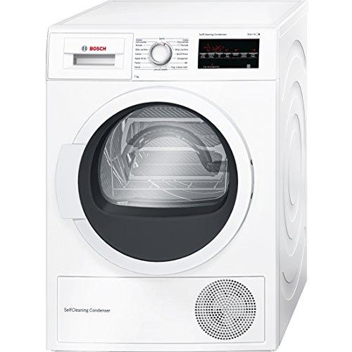 Bosch Serie 6 WTW85457IT Libera installazione Carica frontale 7kg A++ Bianco asciugatrice