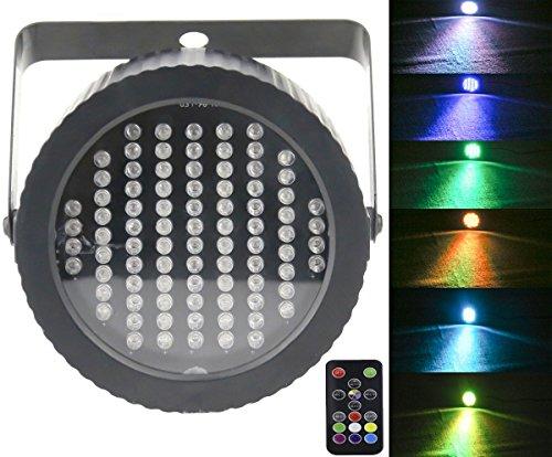 Luci da palco Par 86 LED, Latta Alvor DMX512 RGB Luci dj da festa stroboscopiche per discoteca Bar...