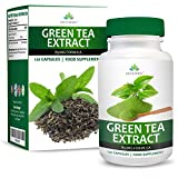 Green Tea Extract - 850mg Pure Green Tea with EGCG - Maximum Strength - 120 Capsules (4 Month Supply) by Earths Design