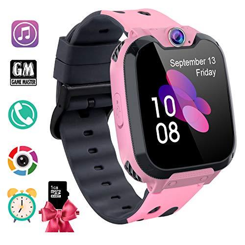 Smartwatch Bambini con Musica MP3 - Orologio Intelligente 7 Giochi, Orologio Intelligente Bambini...