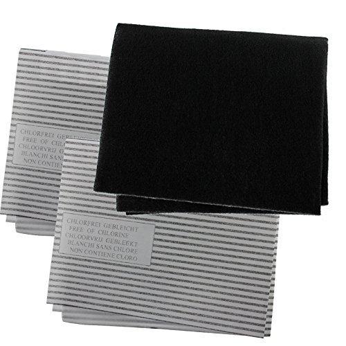 Spares2go cappa Grease Filter Carbon kit per Galvamet cucina aspiratore Vent