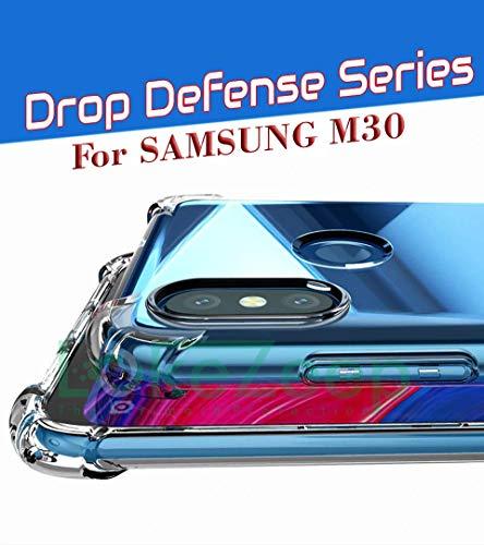 Lokezeep Samsung Galaxy M30 Case Back Cover [Drop Defense