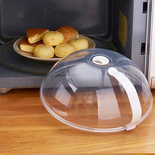 Microonde Hover anti-sputtering di cibo coperchio paraschizzi con vapore trasparente piastra...