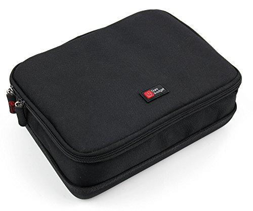 DURAGADGET–Negra y Bolsa de Transporte para su Medisana BU 510Brazo Tensiómetro | nursal Digital Brazo Tensiómetro y Accesorios