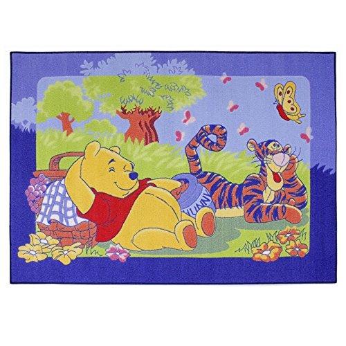Tappeto Bambino Winnie the Pooh 133x 95cm Disney Picnic