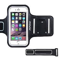 Kaufen Sportarmband Hülle, Mpow Schweißfest Armtasche Hülle Oberarmtasche mit Schlüsselhalter, Verlängerungsband und Reflekltierendes Band für iPhone 7/6/6S,HTC ONE/M7,iPhone 5/5S/SE bis 4.7 Inch