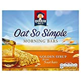 Quaker Oats Oat So Simple Morning Bars Golden Syrup Bars 5 X 35G
