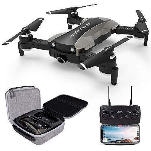 le-idea 20 - Drone GPS con videocamera 4K, Trasmissione Live FPV WiFi 5GHz, Fotocamera 120 °FOV...