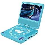 Frozen - Lector DVD portátil, color azul (Lexibook DVDP6FZ)