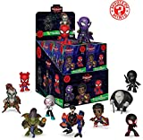 Funko - Mystery Mini Blind Box Color Marvel: Spiderman Animated Color PDQ (CDU 12),, 34757