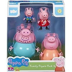 Peppa Pig Peppa Pig-6666 Pack 4 Figuras,, 0 (6666)