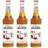 Monin Sirup Popcorn, 0,7L 3er Pack