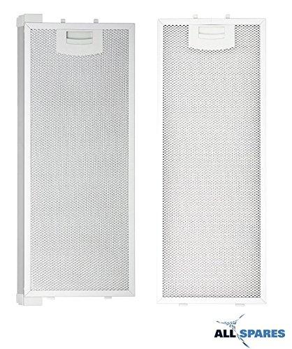 Filtro per grasso/filtro metallico per Bosch/Siemens/Neff/Balay, per diverse cappe e cucine, 352813...