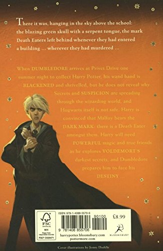Harry Potter and the Half Blood Prince 3  Harry Potter and the Half Blood Prince 5102l6E1xCL