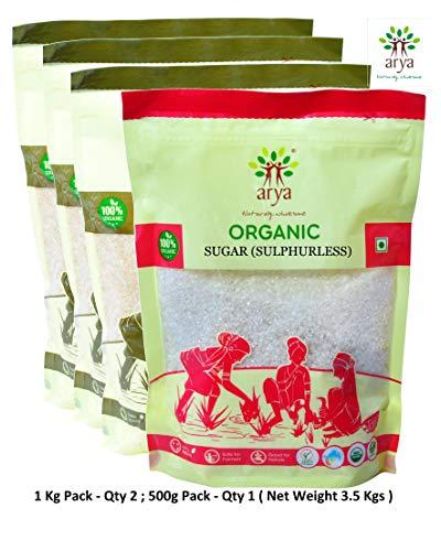 Arya Farm Certified Organic Sulphurless Sugar 3.5 Kgs