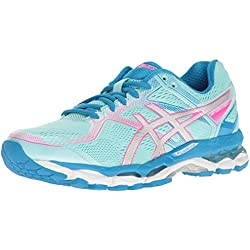 ASICS Women's Gel-Surveyor 5 Running Shoe, Aqua Splash/Silver/Diva Blue, 5.5 M US