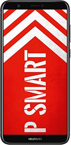 Huawei P Smart Dual-Sim Smartphone (14,35 cm (5,6 Zoll) FullView Display, 13 MP Dual-Kamera, 32 GB interner Speicher, Android 8.0) Schwarz