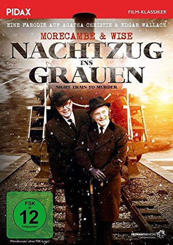 Nachtzug ins Grauen (Night Train to Murder) / Grandiose Persiflage auf EDGAR WALLACE und AGATHA CHRISTIE mit dem Comedy-Duo Morecambe & Wise (Pidax Film-Klassiker)