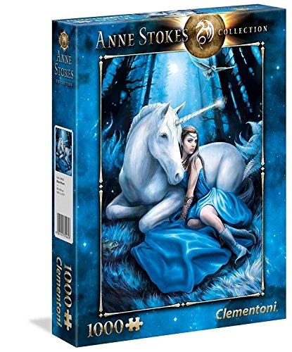 Clementoni Anne Stokes Puzzle 1000 Pezzi, 39462