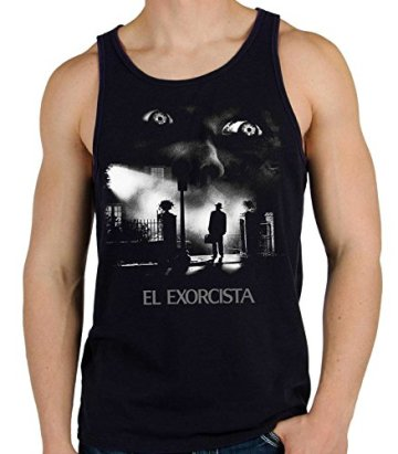 35mm - Camiseta Hombre Tirantes El Exorcista-The Exorcist Terror Movie 2