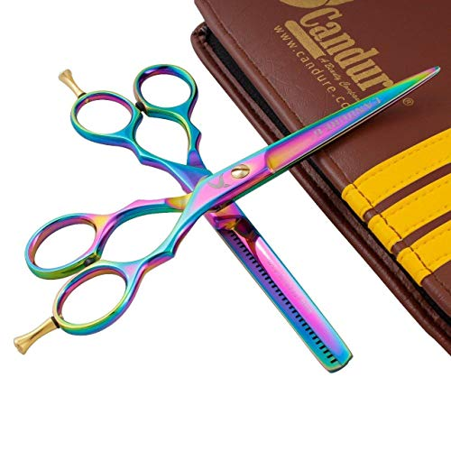 Forbici barbiere forbici parrucchiere sottili set forbici di taglio dei capelli