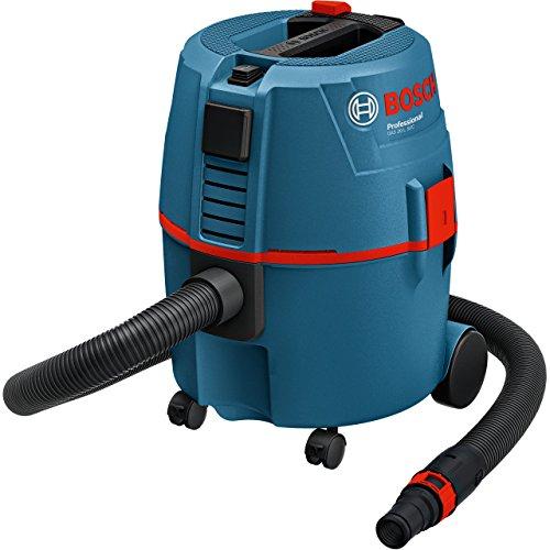 Bosch Professional 060197B000 GAS 20 L SFC, Aspiratore a umido/a secco, 1.200 W, Filtro...