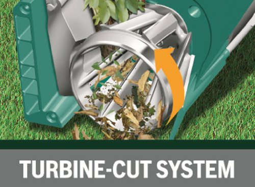 will easily shred both woody garden materials such as hedge clipping, thorny branches as well as soft green growth. Usually garden shredders will only shed hardwood material effectually or soft green garden waste but this model does both effective meaning you do not need to separate garden waste.