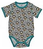 Maxomorra Baby Body Kurz Little Arrow Monkey 86/92