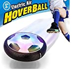 Maxesla Hover Ball Disco de Entrenamiento de fútbol para niños y niñas, LED Flotante para niños en Interiores y Exteriores