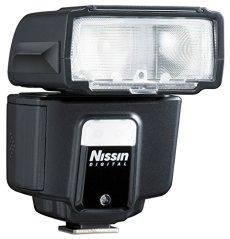 Nissin Digital Speedlite i40 - Flash con zapata (ISO 100, 24-105 mm), negro
