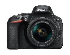 """Nikon D5600 - Kit de cámara réflex digital de 24.2 MP con objetivo estabilizado AF-P DX 18 - 55 mm VR (pantalla táctil de 3"""", Full HD) negro - Versión Española [Acceso a Nikonistas]"""