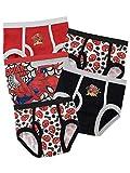 Hasbro Spiderman Biancheria Intima delle Ragazzi Uomo Ragno Confezione da 5 4 a 5 Anni