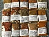 Harissa, Tajine, Couscous, Berbere, usw. 15 x 30g Afrikanische Gewürze ,