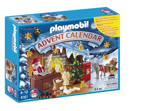 Calendario Avvento Playmobil.Playmobil 4161 Ufficio Postale Babbo Natale Calendario Dell Avvento