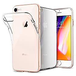 Kaufen iPhone 8 / 7 Hülle, Spigen [Liquid Crystal] iPhone 8 Hülle, Soft Flex Silikon [Crystal Clear] Transparent Schlank Bumper-Style Handyhülle Kratzfest TPU Durchsichtige Schutzhülle für Apple iPhone 7 Hülle / iPhone 8 Case Cover - Crystal Clear (042CS20435)