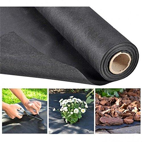 JUNEO - Barrera de Malas Hierbas de Tela para Protección de Plantas y Control de plagas, Ideal para Jardín/Granja Vegetal/Campana