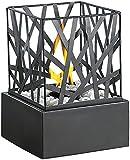 """Kühles Metall & heißes Feuer: faszinierendes Flammenspiel für Ihr ZuhauseAUSZEICHNUNGEN / BEWERTUNGEN / PRESSESTIMMEN:Welt der Frau  (05/18): 4 von 5 Sterne Fazit: """"Die Befüllung und Befeuerung mit Bioethanol gelingt einfach und effektvoll."""" .Die..."""
