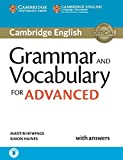 Grammar and Vocabulary for Advanced Book with Answers and Audio [Lingua inglese]
