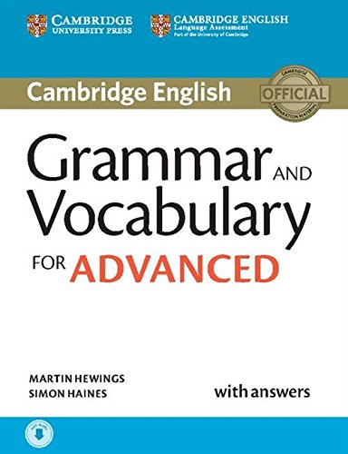 Grammar and Vocabulary for Advanced Book with...