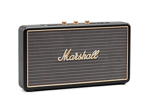 Marshall Stockwell Portable Bluetooth Speaker (Black)