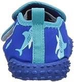 Playshoes Aquaschuhe, Badeschuhe Hai mit höchstem UV-Schutz nach Standard 801 174773, Jungen Dusch- & Badeschuhe, Blau (original 900), EU 20/21 - 2