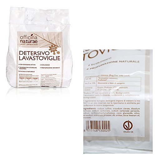 Detersivo ecologico per lavastoviglie in polvere Concentrato 3kg